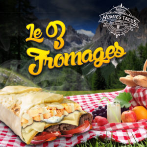 Les 3 fromages - Tacos genève