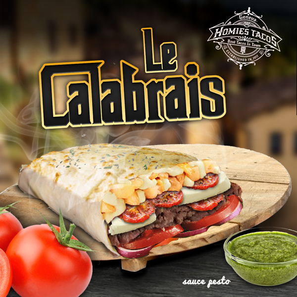 Le calabrais - Tacos genève