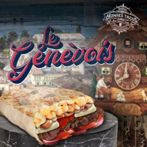 Le genèvois - Tacos genève