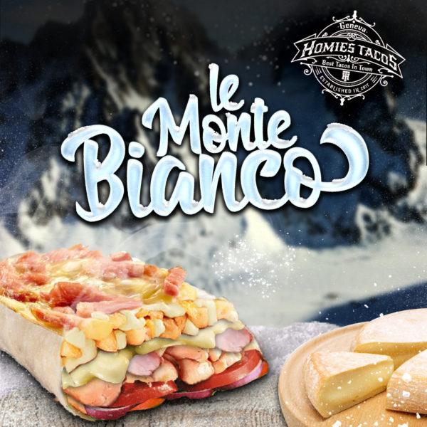 Le monte bianco - Tacos genève